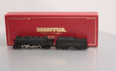 Mantua 348-020 Pennsylvania Mikado Locomotive w/Tender