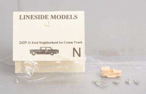 Lineside Models 2429 N 31 Ford Neighborhood Ice Cream Truck
