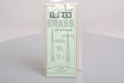Sheepscot Scale Products 75008 Brass Radio Tower/High Tension Electric Line Tower