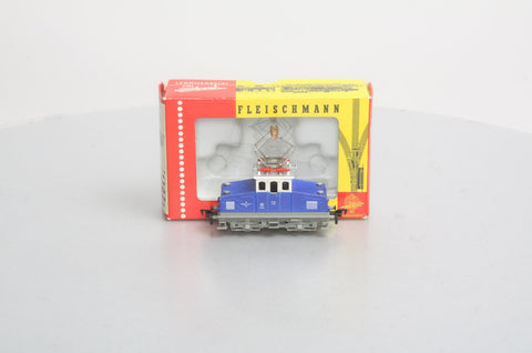 Fleischmann 1302Z HO 0-4-0 steeple Cab Loco in box