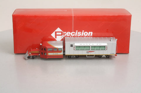 "Precision Craft Models 427 On30 Santa Fe ""Warbonnet"" Passenger Galloping Goose #M-1000 w/DCC & Sound"