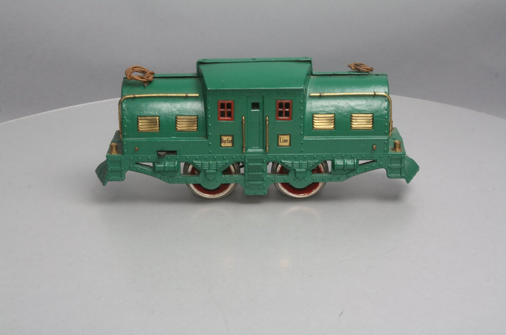 Dorfan Standard Gauge Vintage 0-4-0 Electric Locomotive (Repainted)