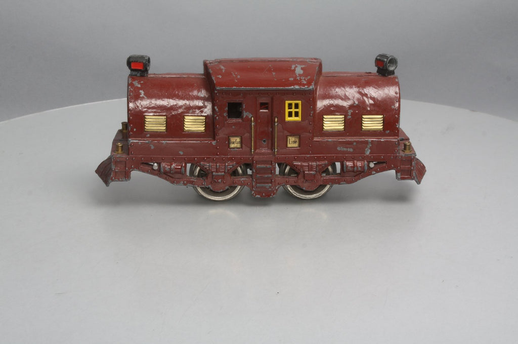 Dorfan Standard Gauge Vintage Die Cast 0-4-0 Electric Locomotive