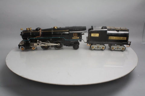 American Flyer 4692 Standard Gauge 4-4-2 Atlantic Type Locomotive and Tender