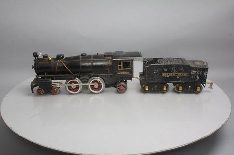 American Flyer 4694 Standard Gauge 4-4-2 Die-Cast Steam Locomotive with Tender (Type I)