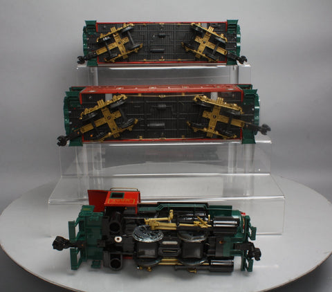 Aristo-Craft 28025 Christmas 0-4-0T Freight Set