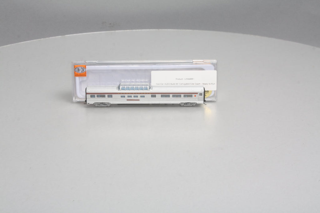 Con-Cor 41353 N Pennsylvania Railroad Budd 85' Corrugated-Side Mid-Train Dome Car