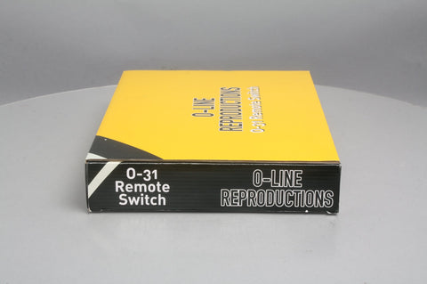 O-Line 605 O O31 SnapTrack Left Hand Switch Turnout