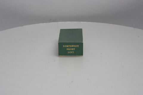 Northwest Short Line Weyerhaeuser Timber Co. No. 001 HO Scale Brass Caboose