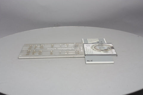 FastTracks HO #6 Turnout Assembly Fixture for Code 83 w/Handlaid Track & CD