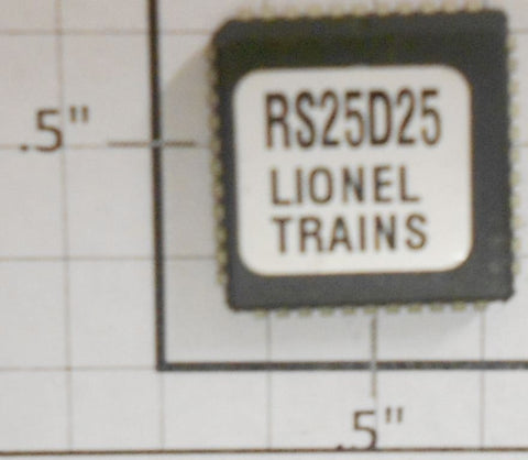 Lionel RS25D25 Sound Chip