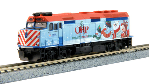 Kato 106-0036 N 2016 Operation North Pole Christmas Train Starter Set