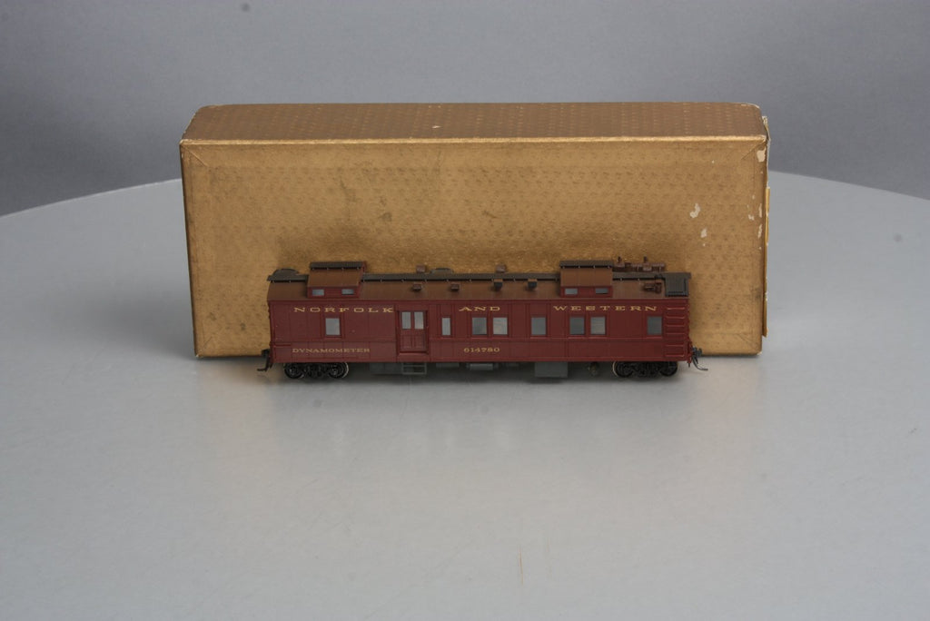 Northwest Short Line HO Scale Custom painted BRASS N&W Dynamometer Car #614780