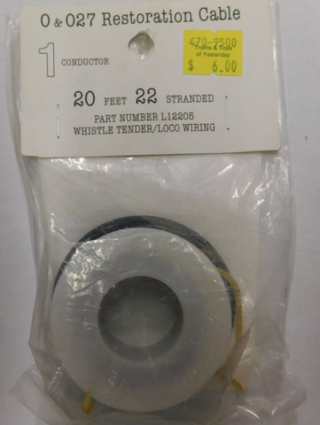 Wire Works L12205 Wire 20FT 22GA White Wire
