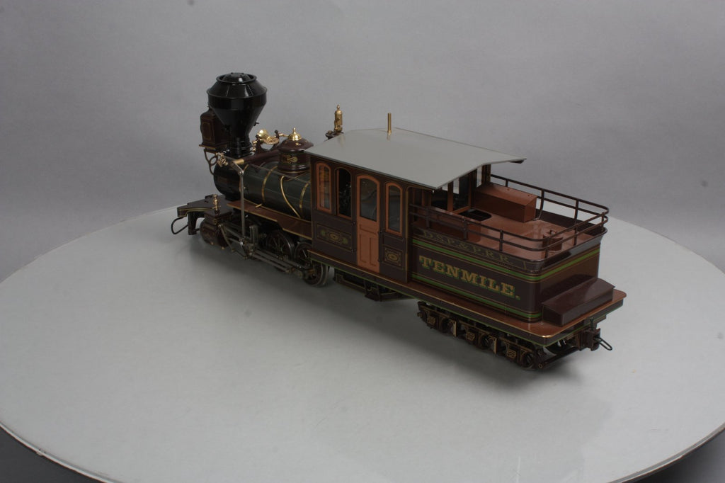 Accucraft AL88-752 1:20.3 DSP&P 2-6-6T Brass Mason Bogie Tenmile in Brown #6