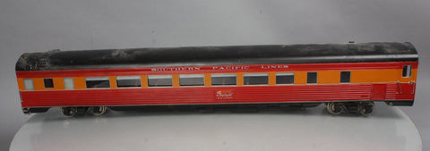 "Accucraft 1 Gauge Southern Pacific ""Daylight"" S-Line Coach w/ Metal Wheels #2400"