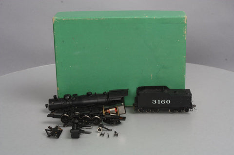 AHM 426 HO Scale BRASS AT&SF 2-8-2 Steam Locomotive #3160