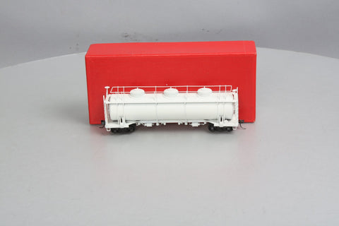 Northwest Short Line HO Scale BRASS 20,000 Gallon Tank Car - Unlettered
