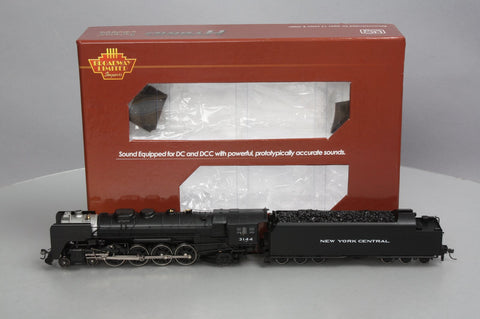 Broadway Limited 1288 HO New York Central  L-4b Mohawk 4-8-2 #3144 Brass Hybrid w/DCC, Sound