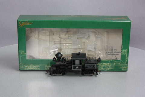 Bachmann 28805 On30 Greenbrier & Big Run 14-Ton 2-Truck Stearns-Heisler #5 w/DCC