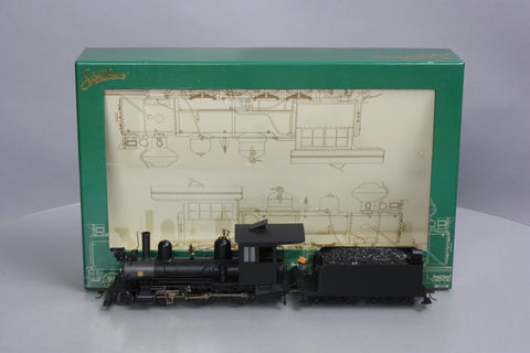 Bachmann 28321 On30 Painted & Unlettered 4-4-0 American Steam Locomotive w/DCC