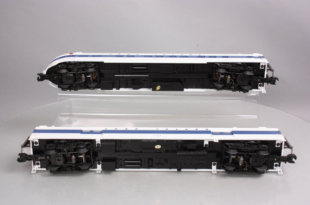 MTH 20-69201 Long Island Railroad 70' Baggage/Coach 2-Car Set