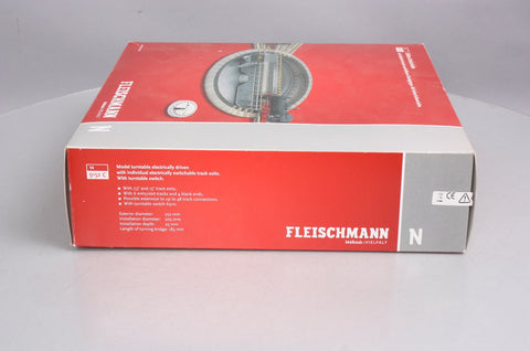 Fleischmann 9152 N Scale Turntable