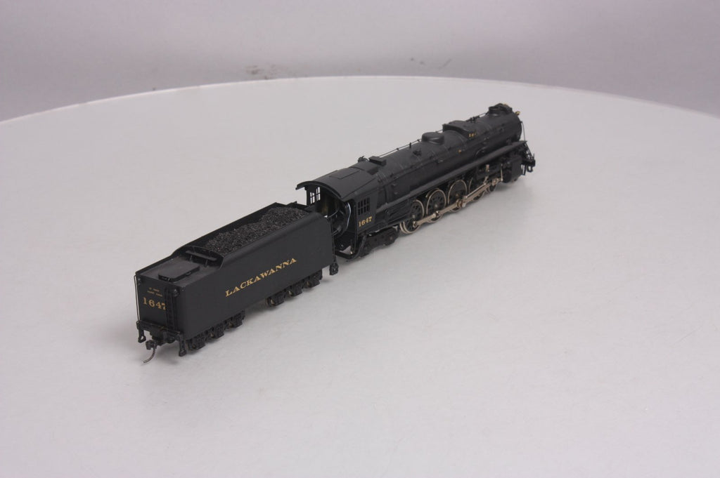 Nickel Plate Products HO BRASS Reading 4-8-4 Steam Loco & Tender #1647 w/DCC