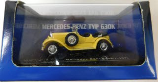 Ricko 38410 HO 1:87 27 Mercedes-Benz 630K Top Down Yellow