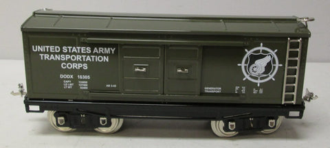 MTH 11-30148 Standard Gauge Tinplate US Army Transportation Corps. No. 214 Box Car
