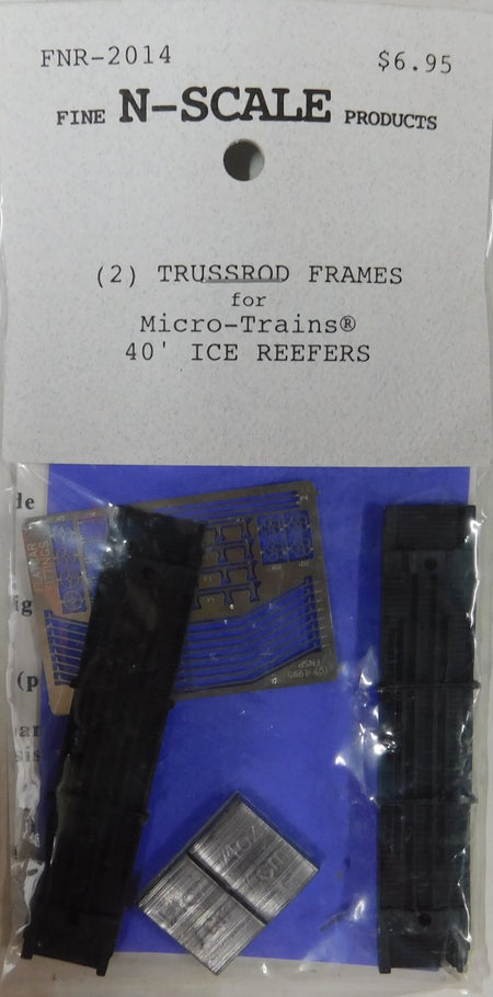 7//SET 20/' RIBBED CONTAINERS N SCALE FNR-2220