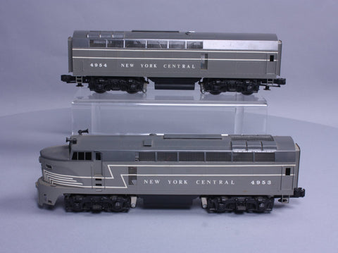 Williams 4953 O Gauge Brass New York Central Sharknose AB Diesel Locomotive Set