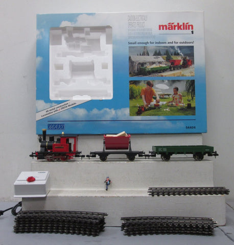 Marklin 54404 0-6-0 Steam Starter Set EX/Box