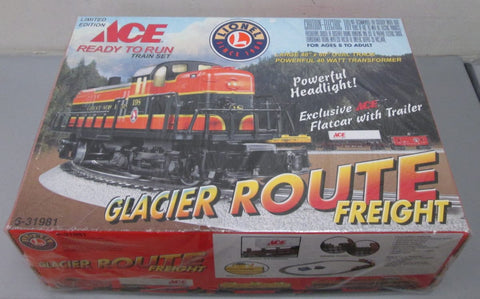 Lionel 6-31981 Great Northern Ace Hardware Glacier Route Train Set NIB