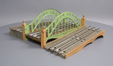 Lionel 102 Standard Gauge Prewar Bridge with Approaches