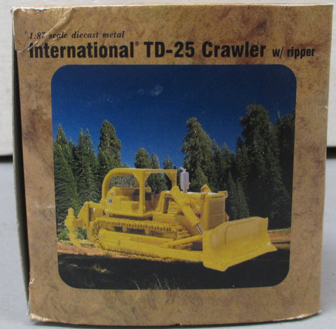 First Gear 800304 1:87 Scale US Forest ServiceTop Down-25 Crawler w/Ripper