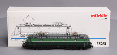 Marklin 33231 HO Scale Series 122 SNCB Electric Locomotive