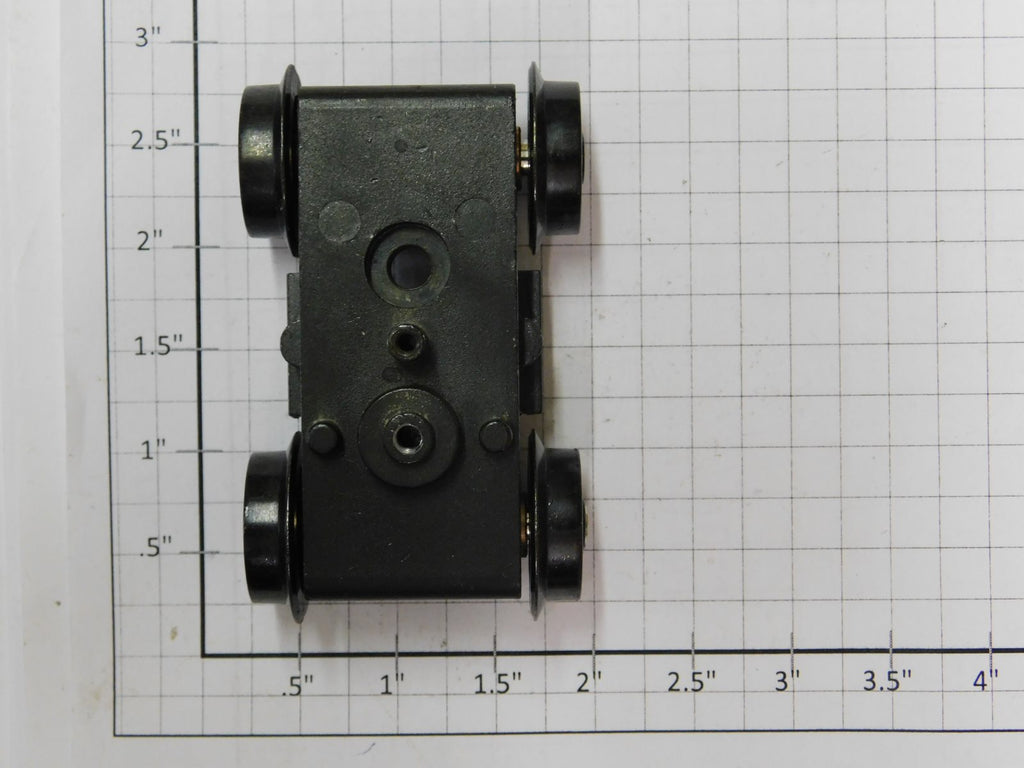 MTH DA-0000010 2 AXLE Non-Powered Truck with Spoked Wheels