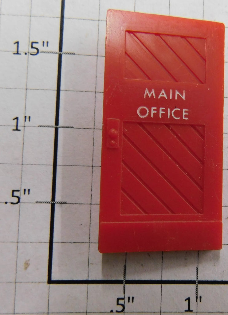 Lionel 464-24 Red Main Office Sawmill Door