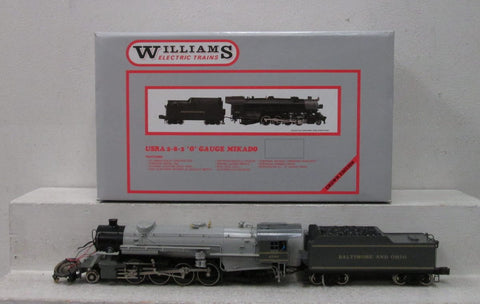 Williams 5105 BRASS B&O 2-8-2 Mikado Steam Loco and Tender