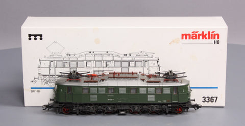 Marklin 3367 BR 118 HO Scale Electric Locomotive