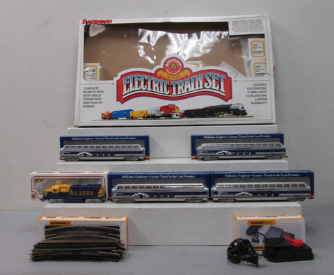 Bachmann 00495 HO Scale McKinley Explorer Electric Train Set EX/Box