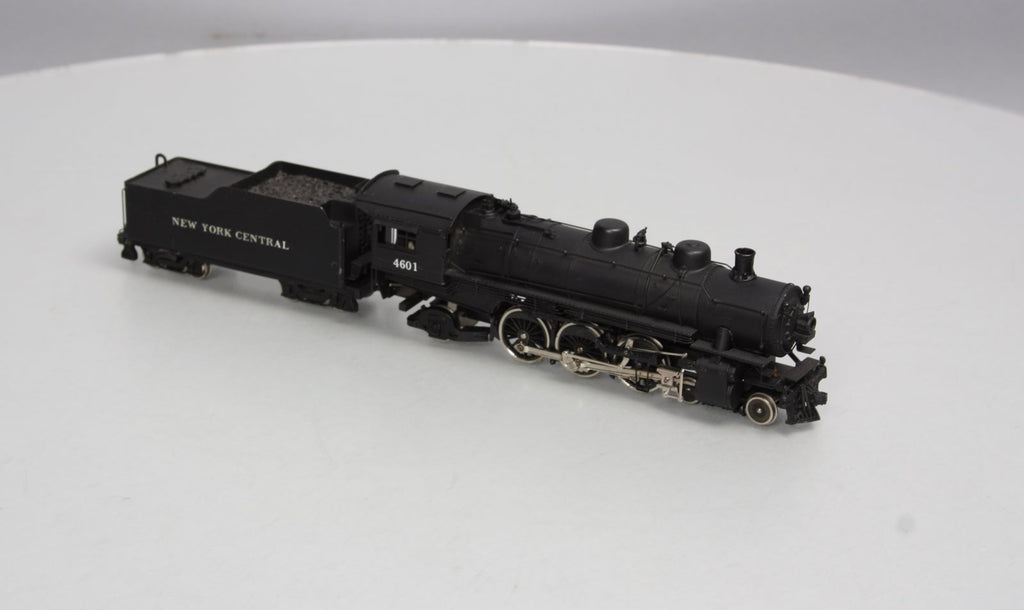 Northwest Short Line HO BRASS NYC 4-6-2 Steam Loco & Tender #4601 - Painted