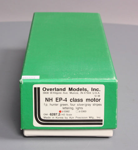 Overland 6287.2 HO BRASS NH EP-4 Class Motor Electric Locomotive #0362 (#22-42)