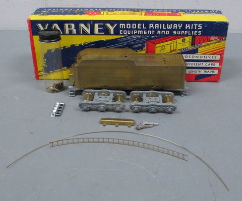 Varney HO Scale BRASS Streamline 12-Wheel Tender Kit