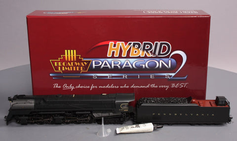 Broadway Limited 2066 HO Pennsylvania Paragon2™ Series Steam Q2 4-4-6-4 #6187