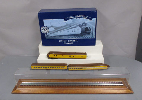 Lionel 6-51007 Union Pacific Century Club II 752 M10000 Streamliner Set EX/Box