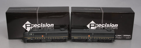 Precision Craft Models 266 HO Scale PRR Alco FA1/FB1 Diesel Locomotives w/DCC, S