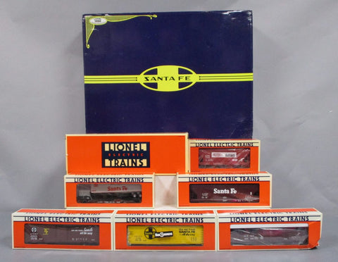Lionel 6-11713 Santa Fe Dash 8 Freight Train Set NIB