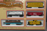 Bachmann 00614 HO Scale Union Pacific Overland Limited EZ Track Train Set